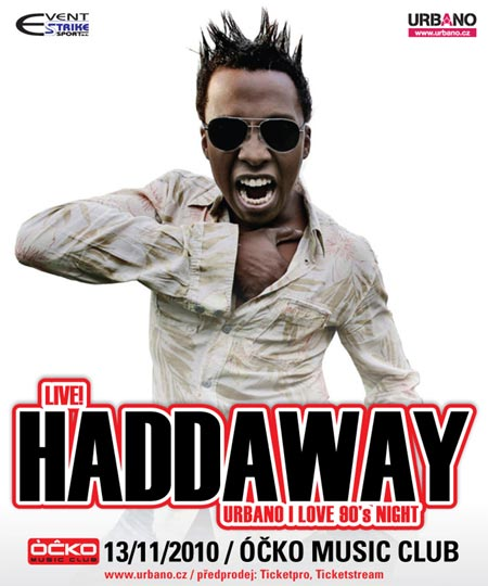 Haddaway , 90 léta , pop , dance party , dance music